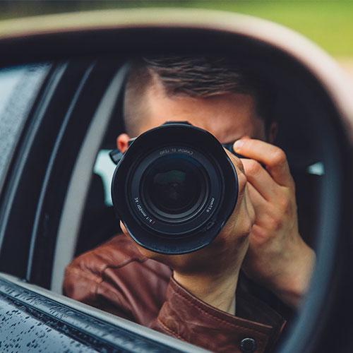 Fotós tanfolyam - Fotózás tükörrel