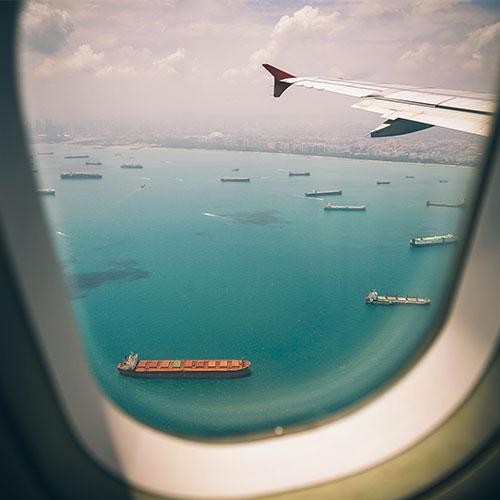 Vámügyintéző tanfolyam - Hajók madártávlatból