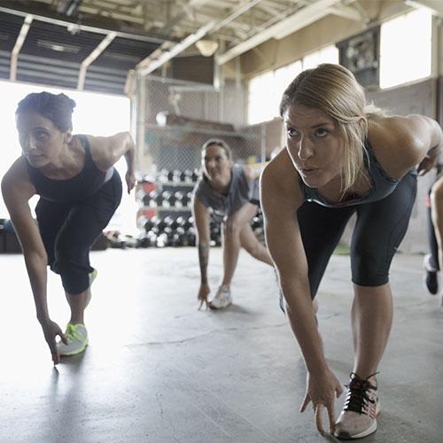 Csoportos fitness instruktor tanfolyam - Csoportos edzés