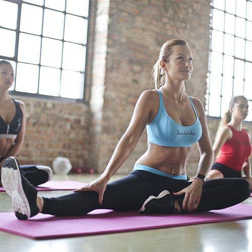 Fitness instruktor képzés - Nyújtógyakorlat