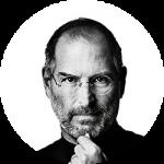 Steve Jobs portré - Webprogramozás tanfolyam