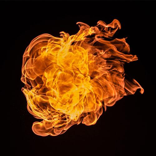 Tűzvédelmi előadó tanfolyam - Láng fotó