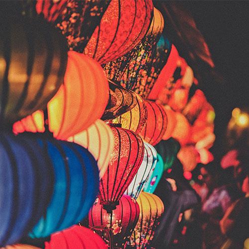 Kulturális rendezvényszervető tanfolyam képgaléria - Színes lámpások