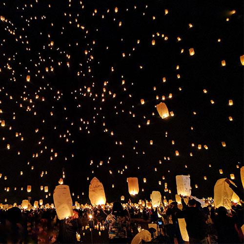 Kulturális rendezvényszervető tanfolyam képgaléria - Lámpások