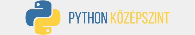 Python középszint tanfolyam – Adatbázisok kezelése SQL és Python segítségével (E-LEARNING)