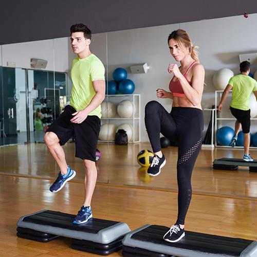 Fitness instruktor képzés - Edzés közben