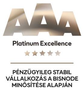 Bisnode platinum excellence logó