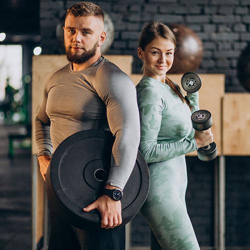 Fitness instruktor képzés - Páros edzés